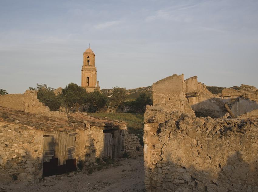 Ruines du village antique dévasté lors de la bataille de l'Èbre  (Miguel Raurich)
