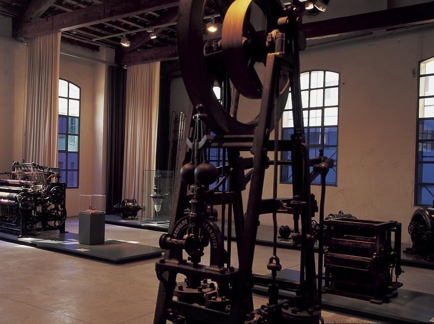 Sala de máquina del Vapor Buxeda Vell.