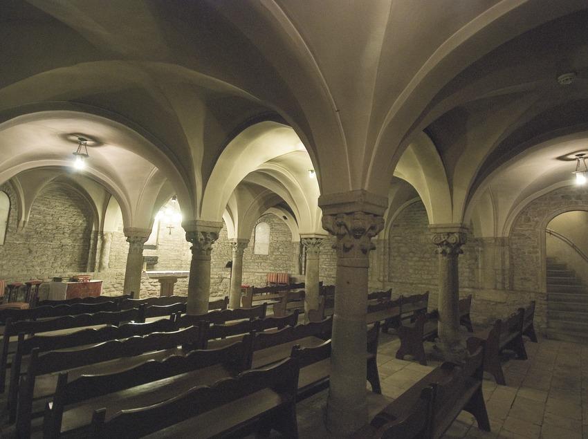Cripta de la catedral de Sant Pere  (Servicios Editoriales Georama)