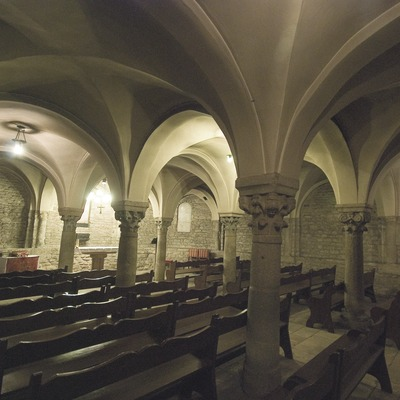 Crypt of Sant Pere cathedral.  (Servicios Editoriales Georama)