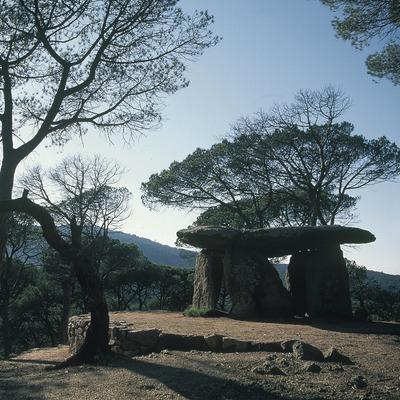 Dolmen de Pedra Gentil  (Servicios Editoriales Georama)