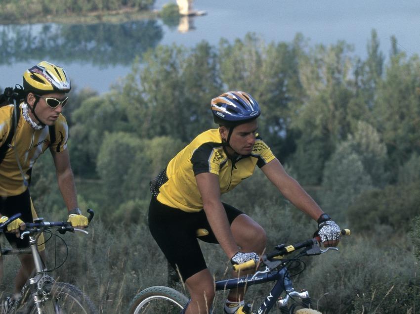 Bicicleta tot terreny. BTT Banyoles.  (Daniel Julián)