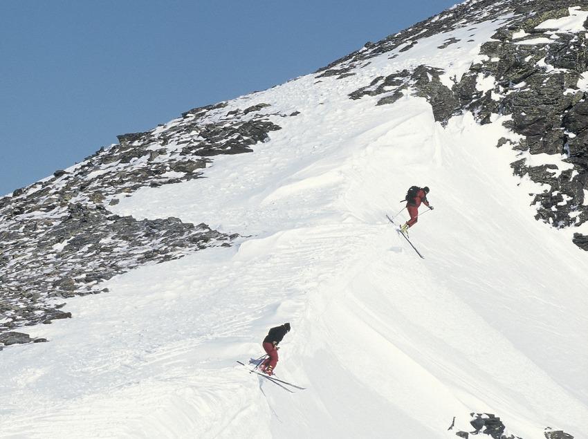 Esquí alpino.