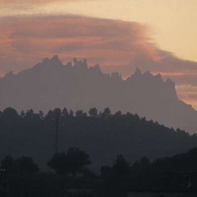 Perfil del massís de Montserrat  (Turismo Verde S.L.)