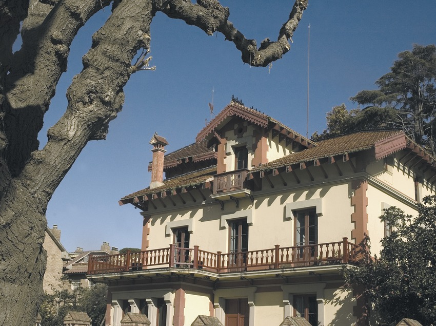 Maison moderniste.  (Turismo Verde S.L.)