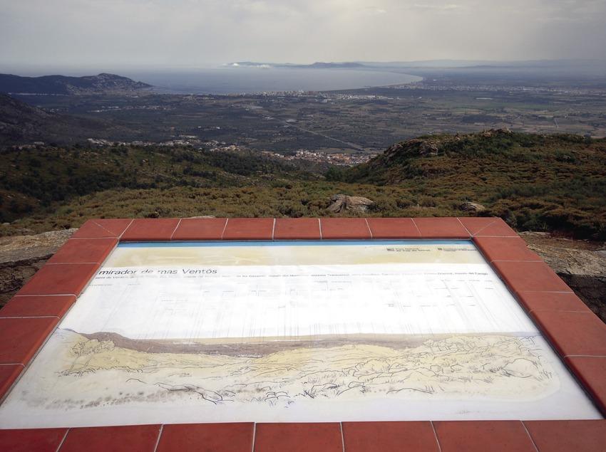 Mirador de Mas Ventós en el Parque Natural del Cap de Creus