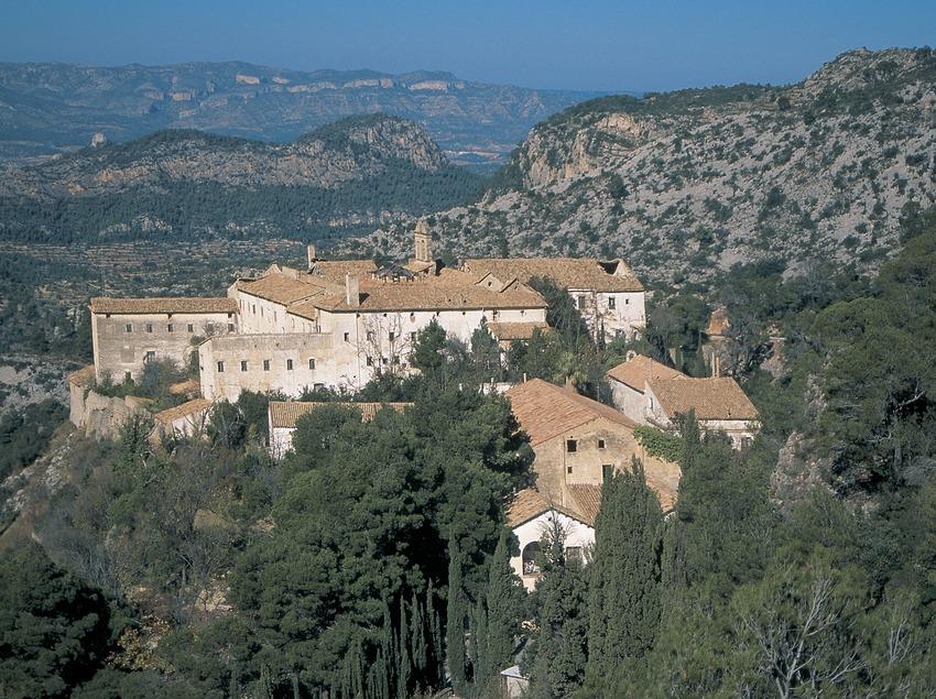 Antic balneari de la Vall de Cardó construït sobre un antic monestir carmelita  (Servicios Editoriales Georama)