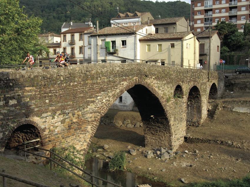 Puente medieval.
